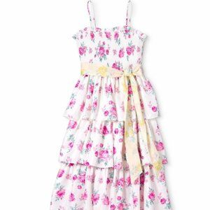LoveShackFancy x Target Elise Rose Tiered Dress
